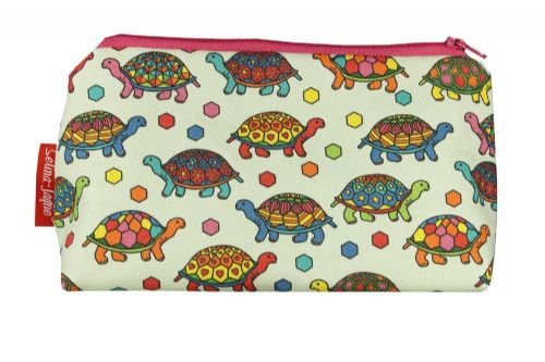 Selina-Jayne Tortoise Limited Edition Designer Cosmetic Bag